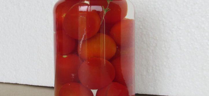 recette des tomates cerise au vinaigre